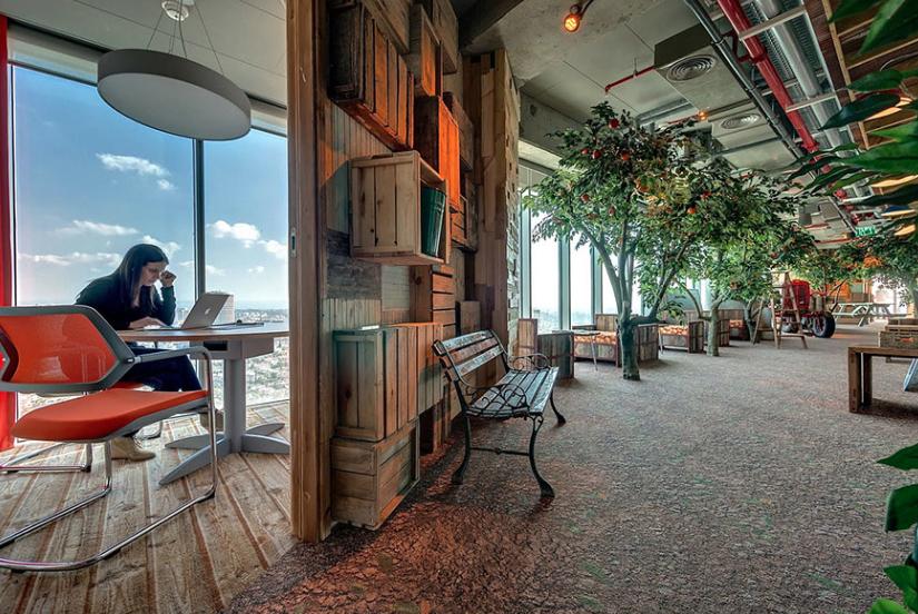 Las 10 oficinas más creativas.