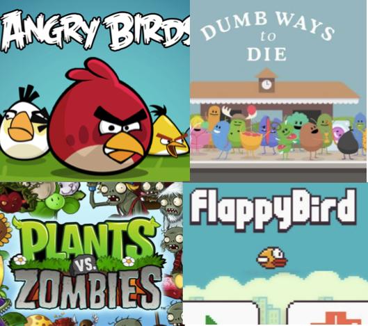 Los 10 juegos más adictivos en tu celular
