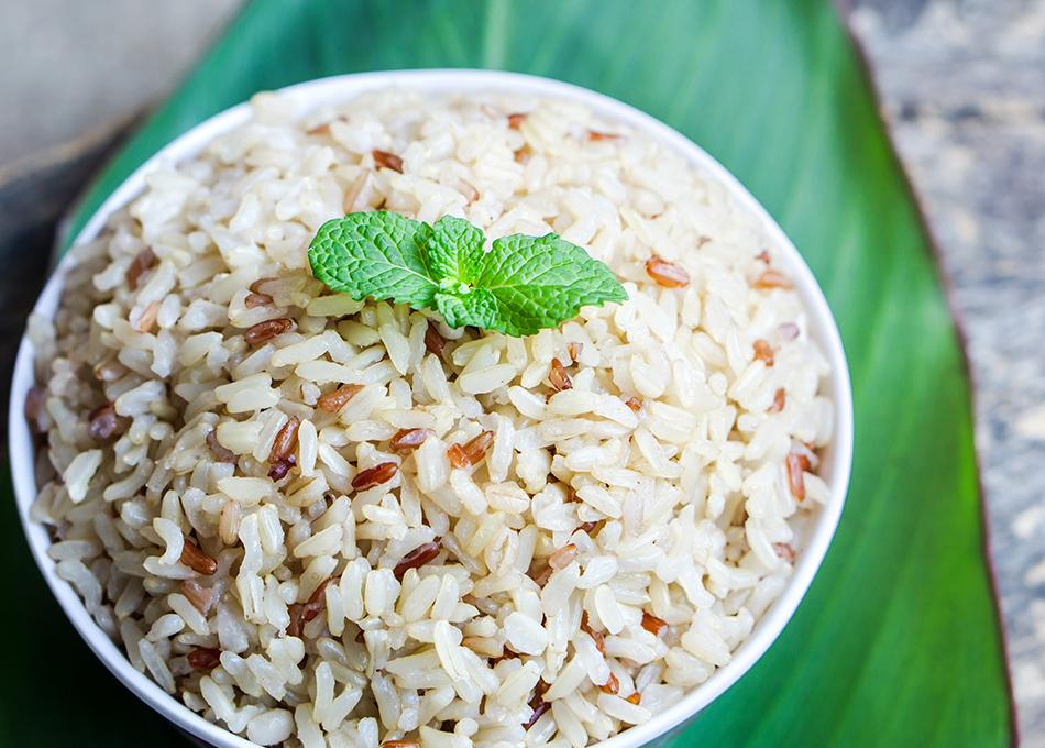 Arroz blanco o arroz integral